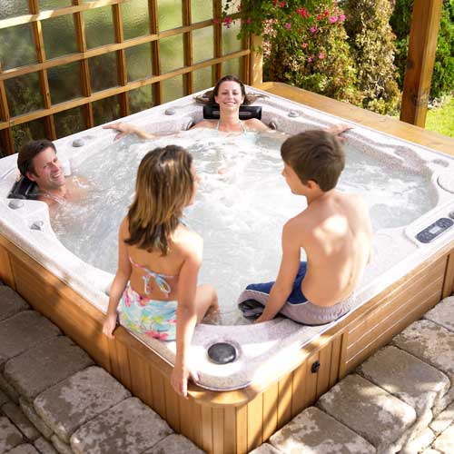 Self Cleaning Hot Tub